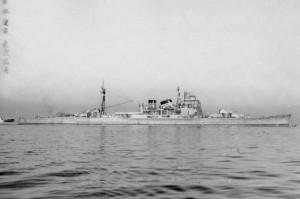 重巡洋艦「愛宕」